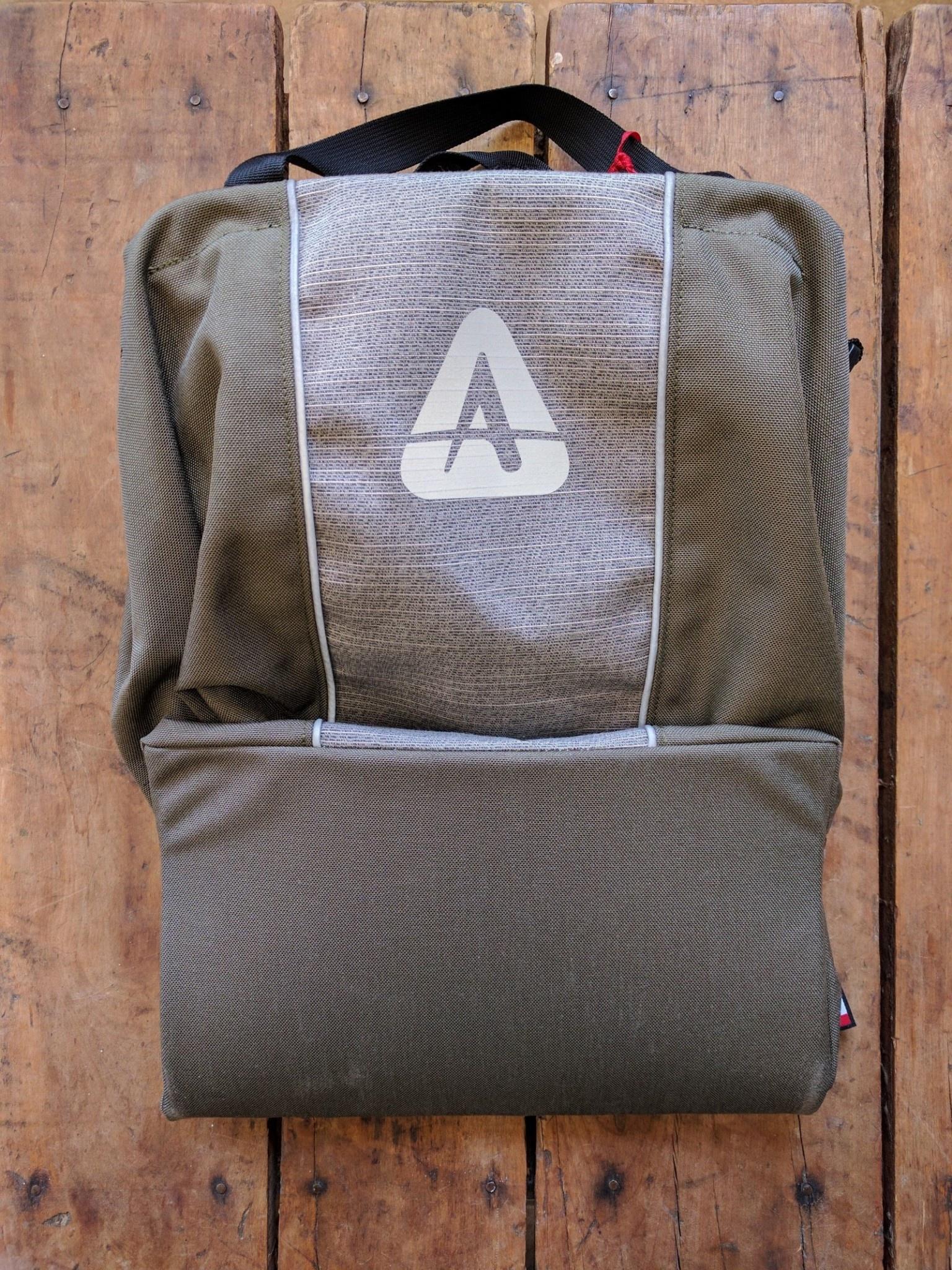 Arkel Shopper Urban Pannier Olive/Grey