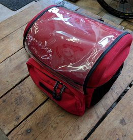 Arkel Handlebar Bag Red Large