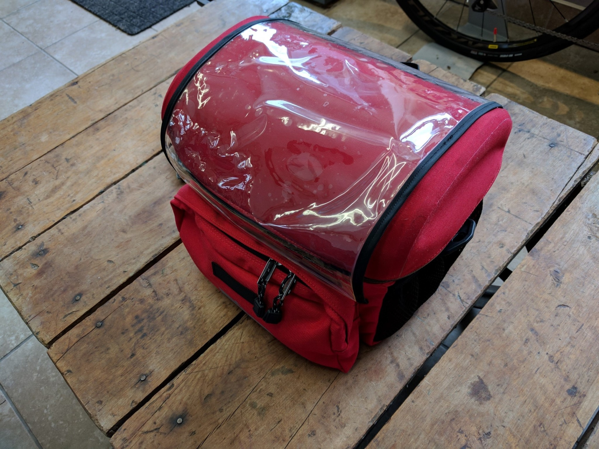Arkel Handlebar Bag Red Large