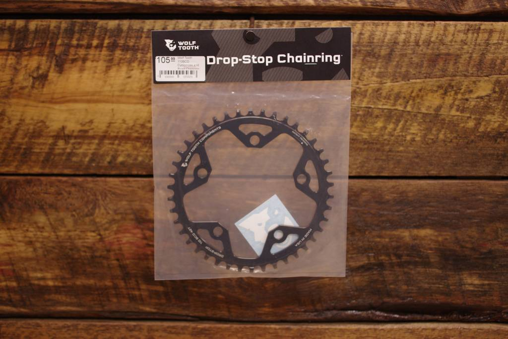 Wolftooth Drop Stop 110BCD Cyclocross and Road Chainring