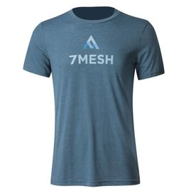 7 Mesh, Apres T- Shirt, Men's, Blue, (XXL)