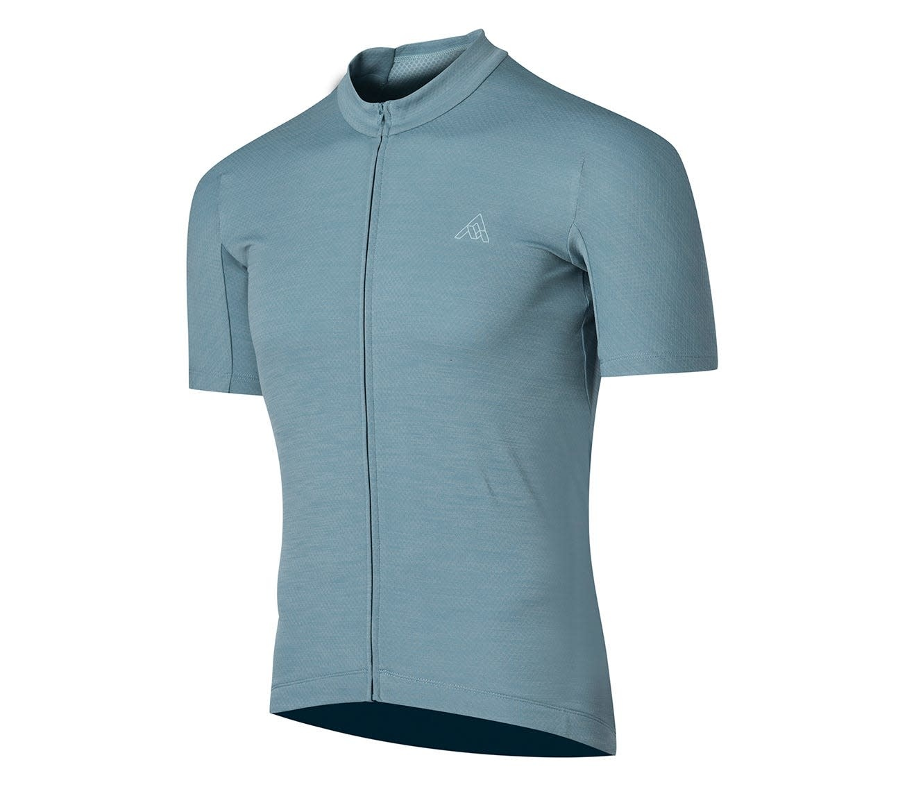7 Mesh, Men's Horizon Jersey,  Storm Blue (Lg)