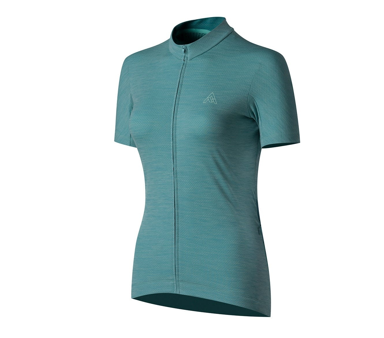 7 Mesh, Women's Horizon Jersey, Blue Agave (Sm)
