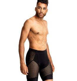 7 Mesh, Foundation Short, Men's, Black (Lg)