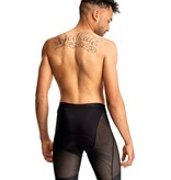 7 Mesh, Foundation Short, Men's, Black (XL)