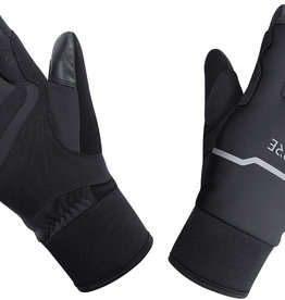 Gore Wear, C5 Gore-Tex Infinium Thermo Split, Winter Glove, Black (Lg)