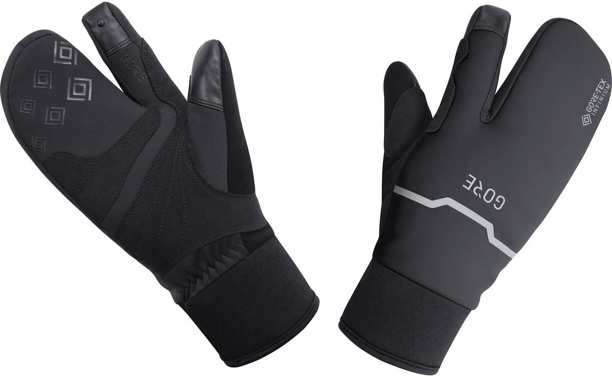 Gore Wear, C5 Gore-Tex Infinium Thermo Split, Winter Glove, Black (XL)