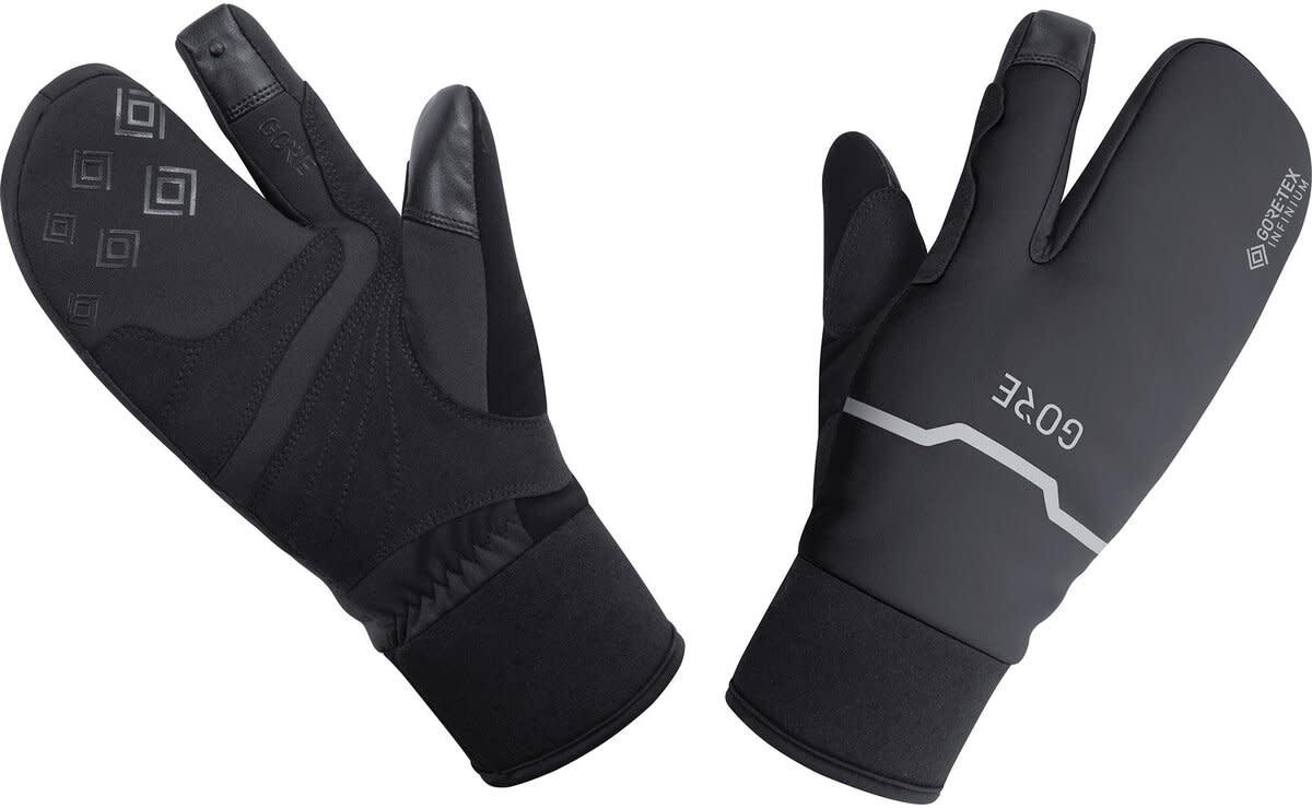 Gore Wear, C5 Gore-Tex Infinium Thermo Split, Winter Glove, Black (2XL)