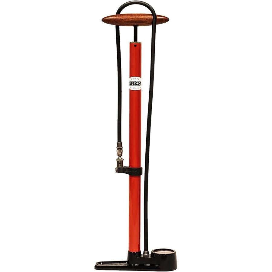 Silca, Floor Pump Pista Red