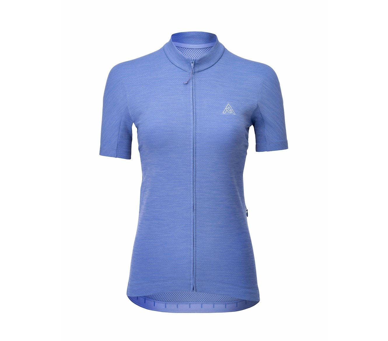 7 Mesh, Women's Horizon Jersey,  Periwinkle (XL)