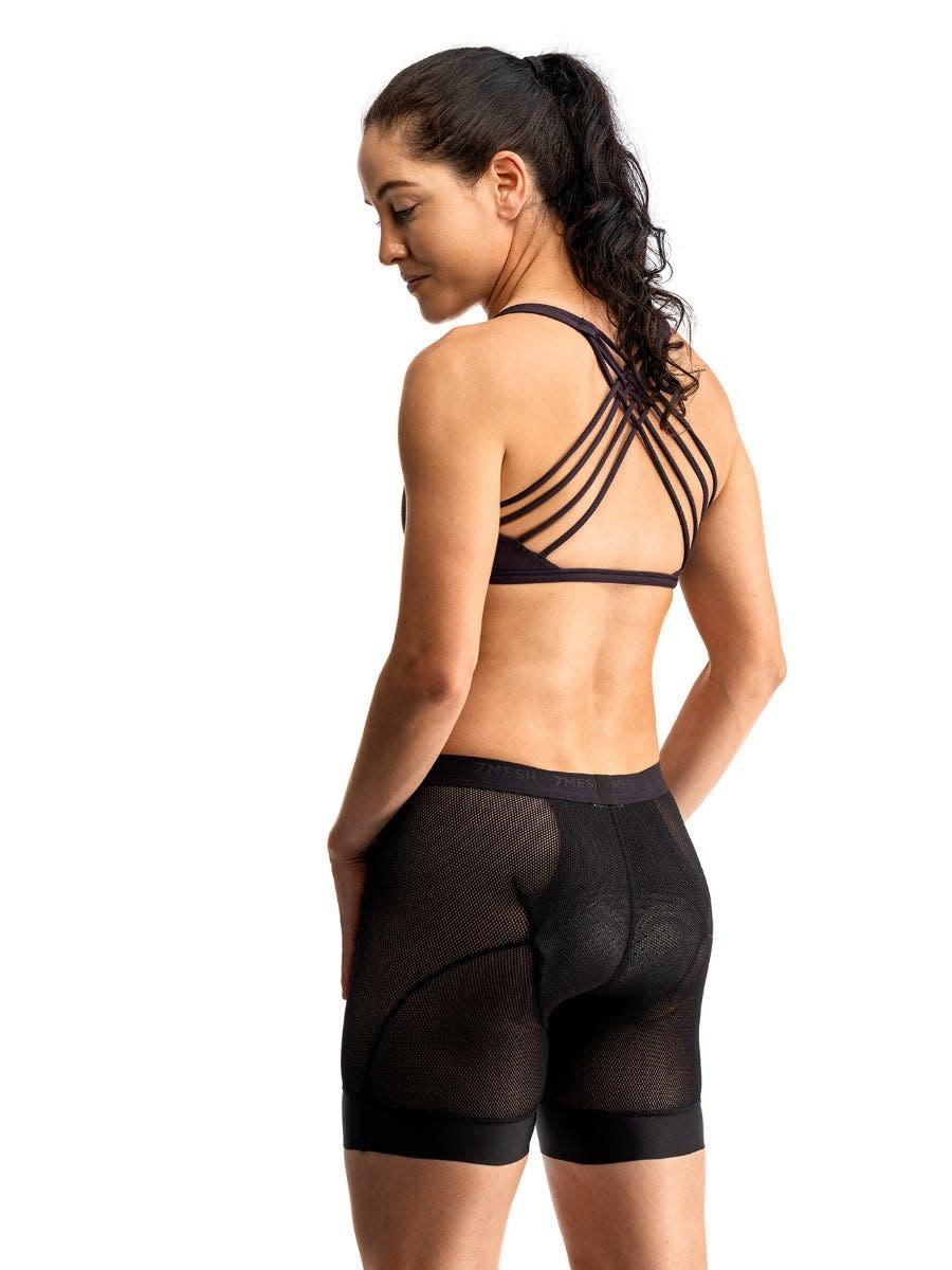 7 Mesh, Women's Foundation Short, Black (XS)