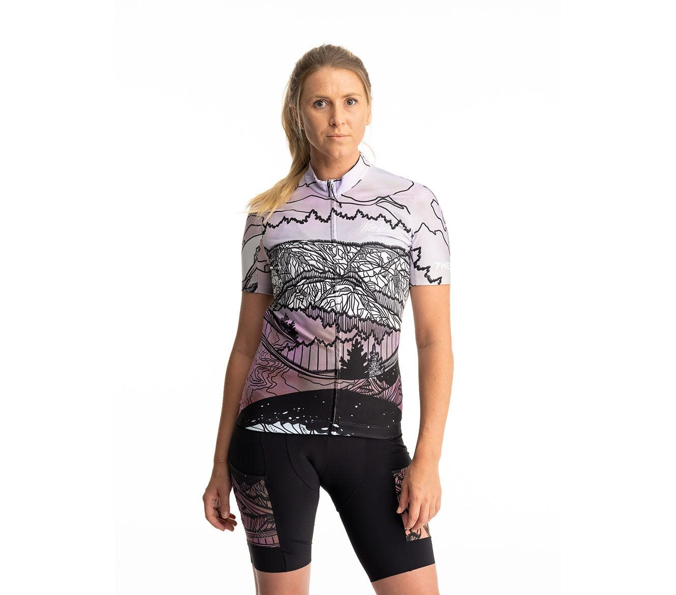 7 Mesh, Horizon Jersey, SS Women's Kate Zessel Collection (Large)