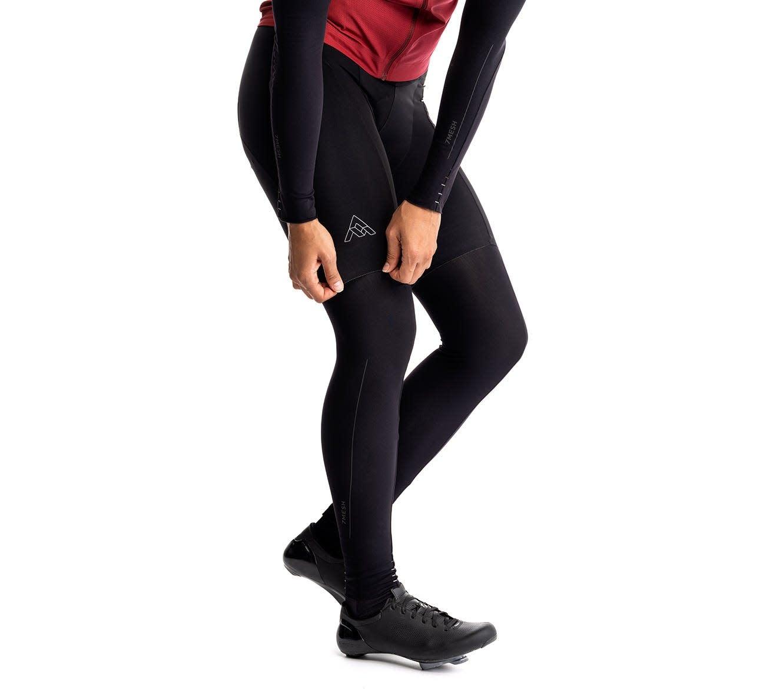 7 Mesh, Colorado Leg Warmer, Black (Large)