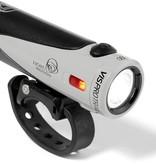 Light and Motion VIS Pro 1000 Trail Rechargeable Headlight: Gravel Light Grey/Black