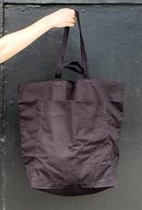 Baggu Giant Black Pocket Tote