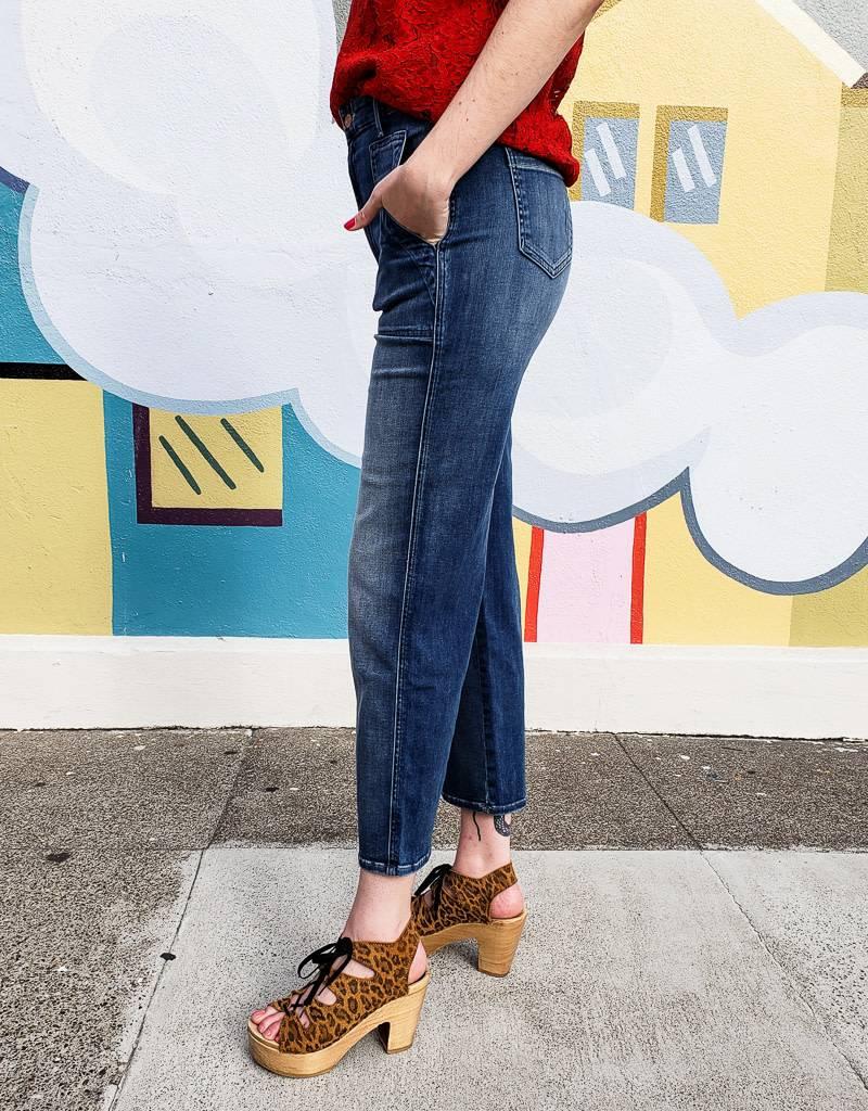 Mother Denim Patch Pocket Cinch Greaser Jeans