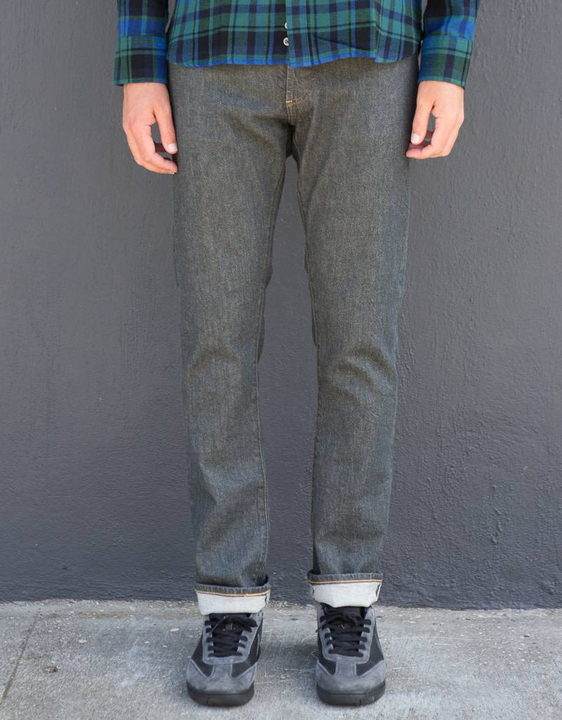 C.O.F. Studio M7 Tapered Jeans in Archroma Selvedge