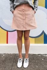 FRNCH Elvan Corduroy Miniskirt