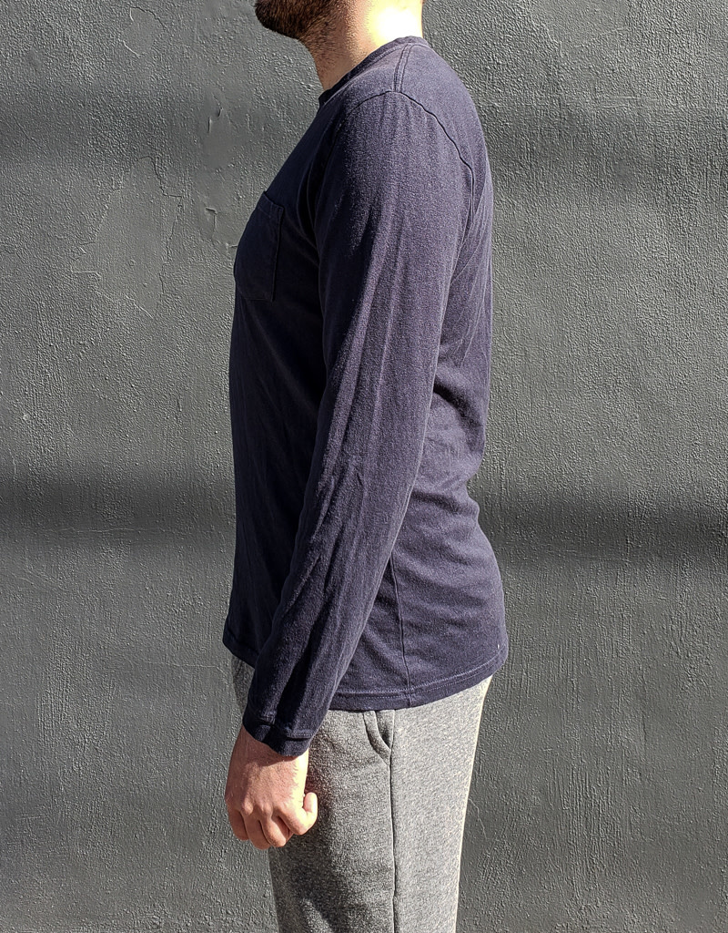 Jungmaven Baja Long Sleeve Pocket Tee