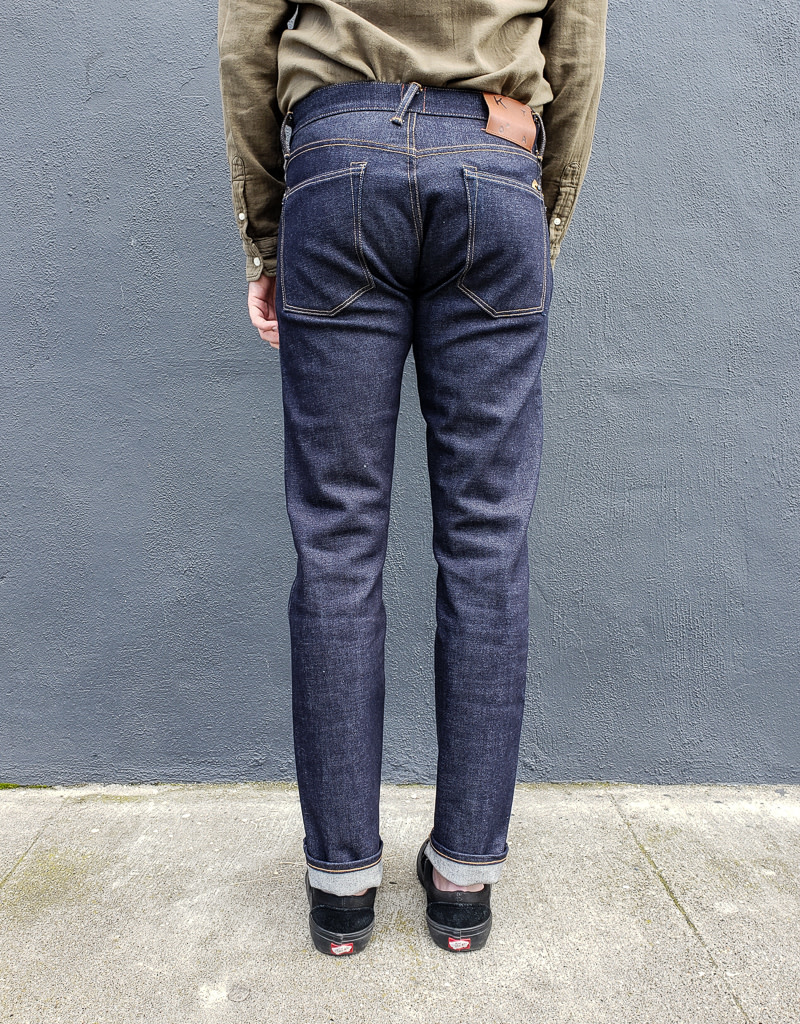 Kato Pen Slim  Jeans in 14 oz. Raw