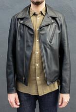 Schott NYC Buddy Clean Asymmetrical Leather Jacket