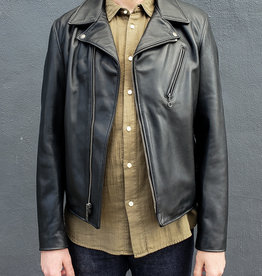 Schott NYC Buddy Clean Asymmetrical Leather Jacket