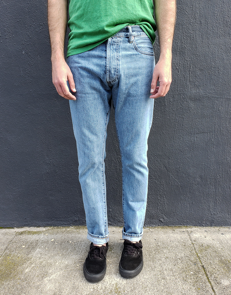 C.O.F. Studio M7 Tapered Jeans in 9x Wash