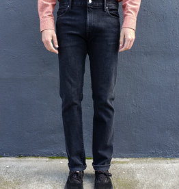 Kato Pen Slim Jeans in Paul Faded Black