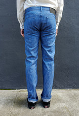 Naked and Famous Denim Weird Guy Jeans in Blue Storm Slub