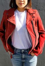 Schott NYC Suede Assymetrical Jacket