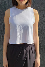 Richer Poorer Cropped Tank Top
