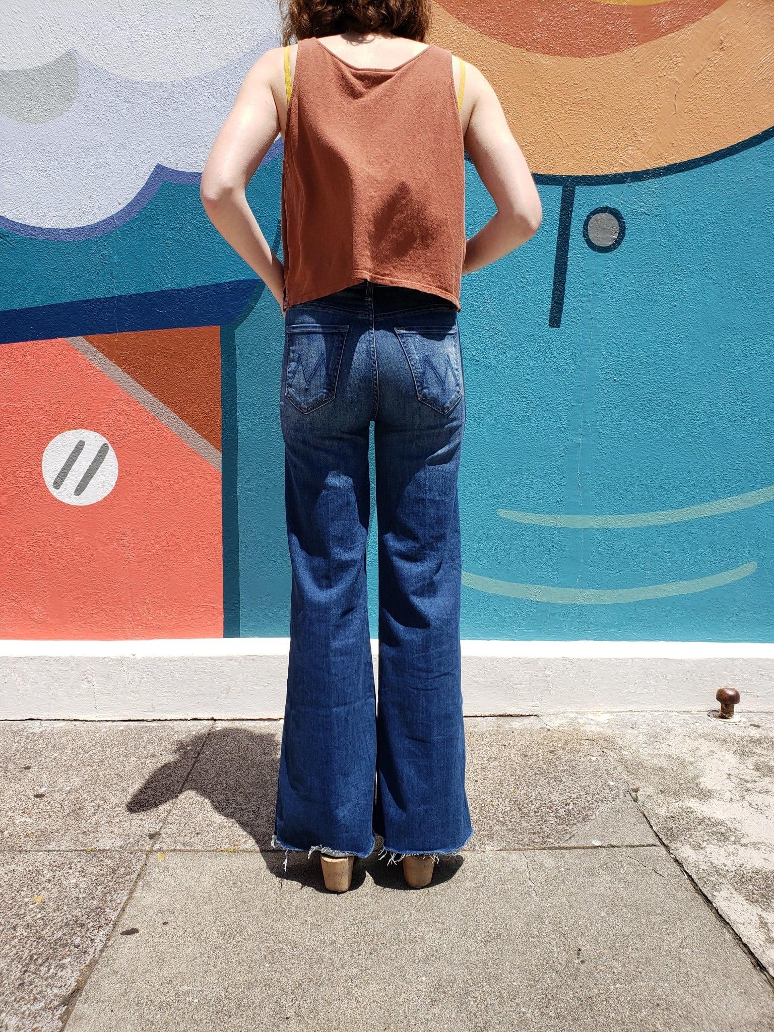 Mother Denim Tomcat Roller Fray Jeans
