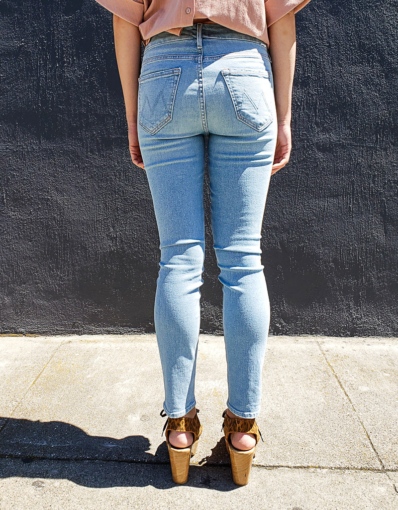Mother Denim The Looker Crop Jeans