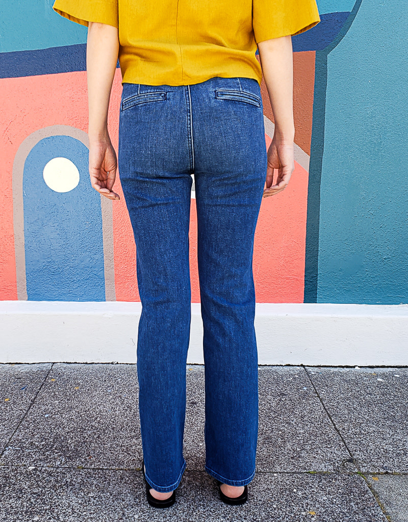 Mother Denim Sailor Tripper Pants