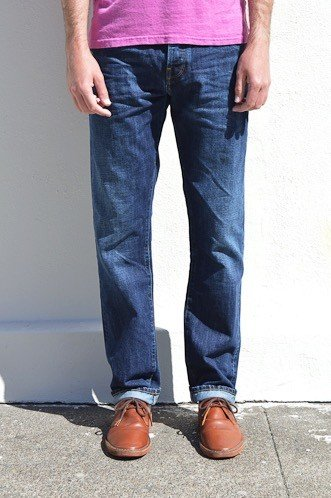 C.O.F. Studio M2 Regular Authentic Aged Indigo Selvage Jeans