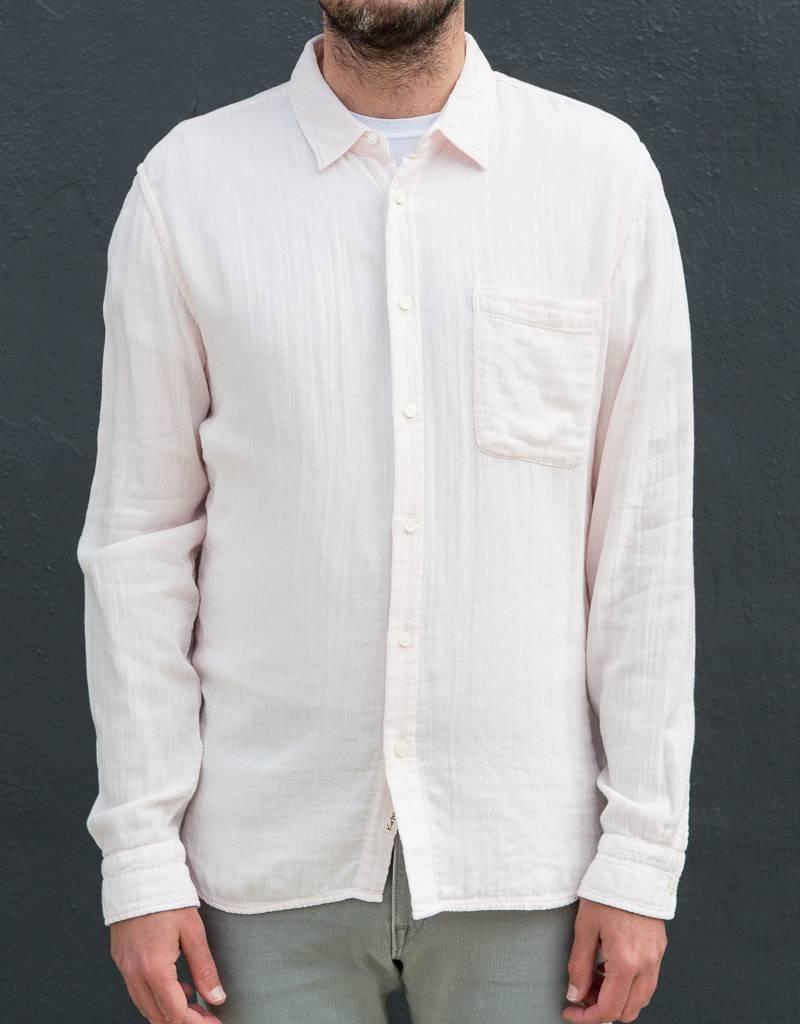 Kato Slim French Seam Long Sleeve Shirt- More Colors