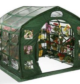 Flower House FarmHouse Clear 9' x 9' x 8'