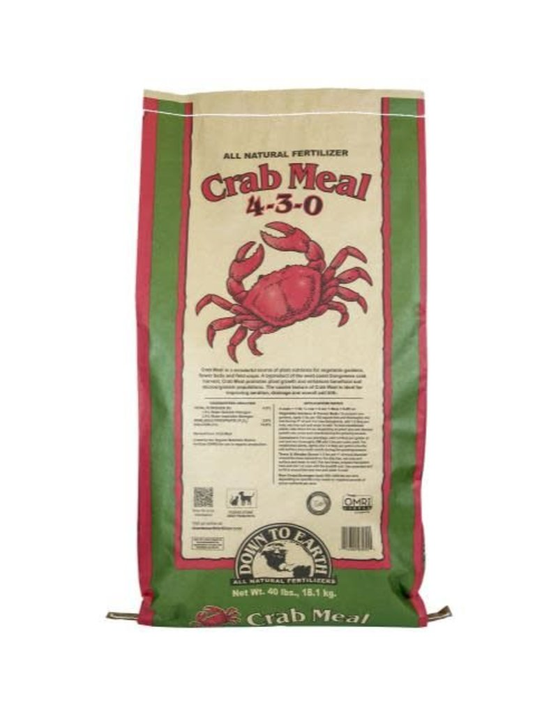 Down To Earth Crab Meal