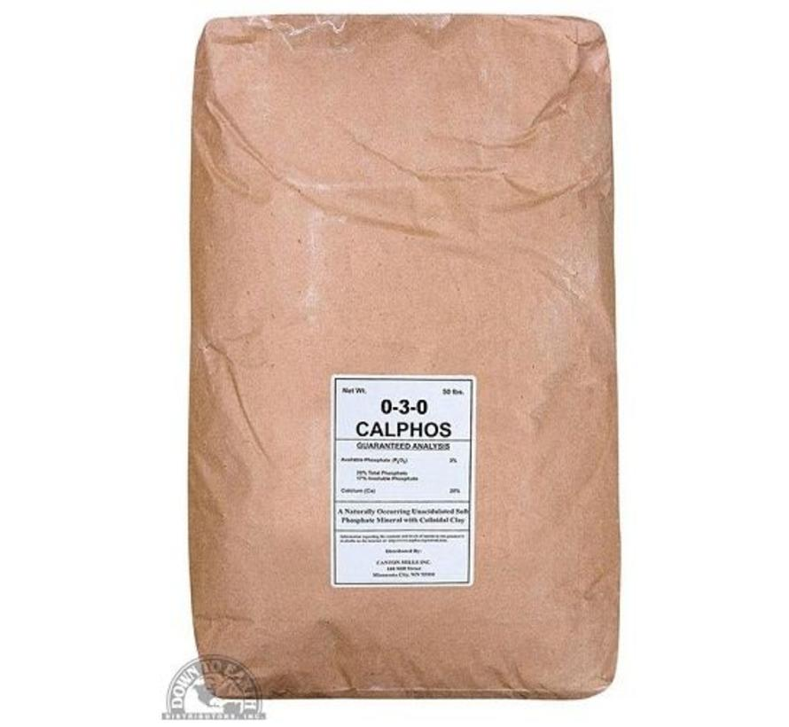 Calphos Rock Phosphate 50LB
