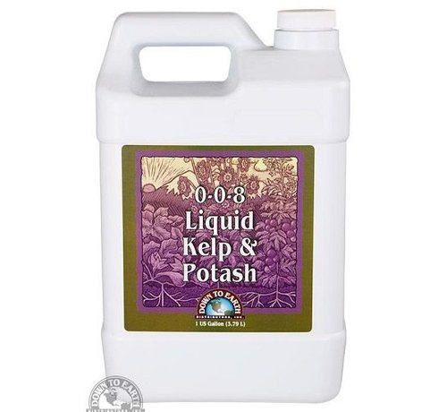 Down To Earth DTE Liquid Kelp & Potash Gallon