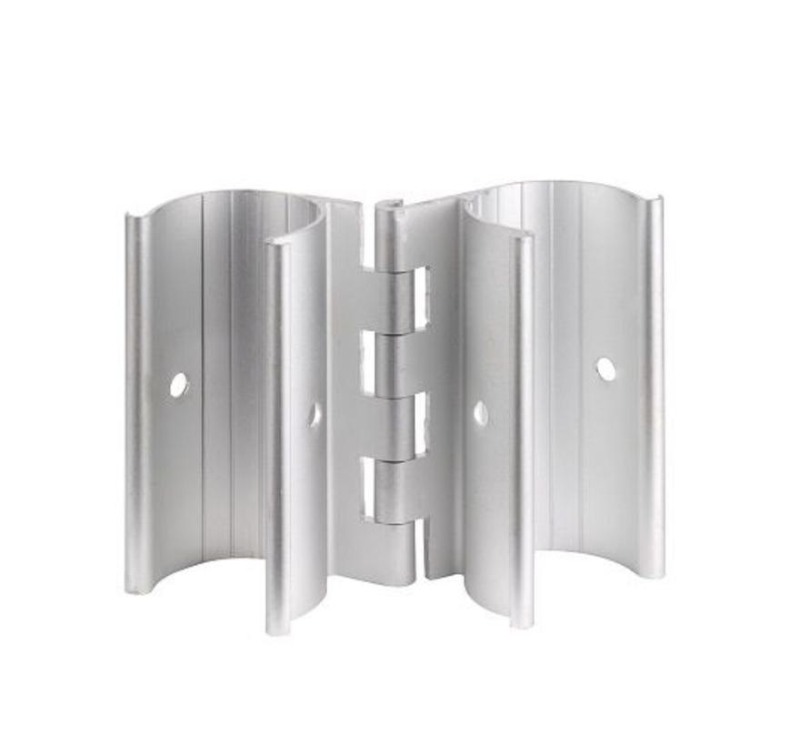 Aluminum Snap-On Hinge