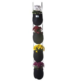 Geopot Fabric Wall Hanging Garden 4 Pocket