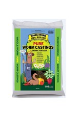 Unco Industries Wiggle Worm Earthworm Castings 30LBS [75/pallet]