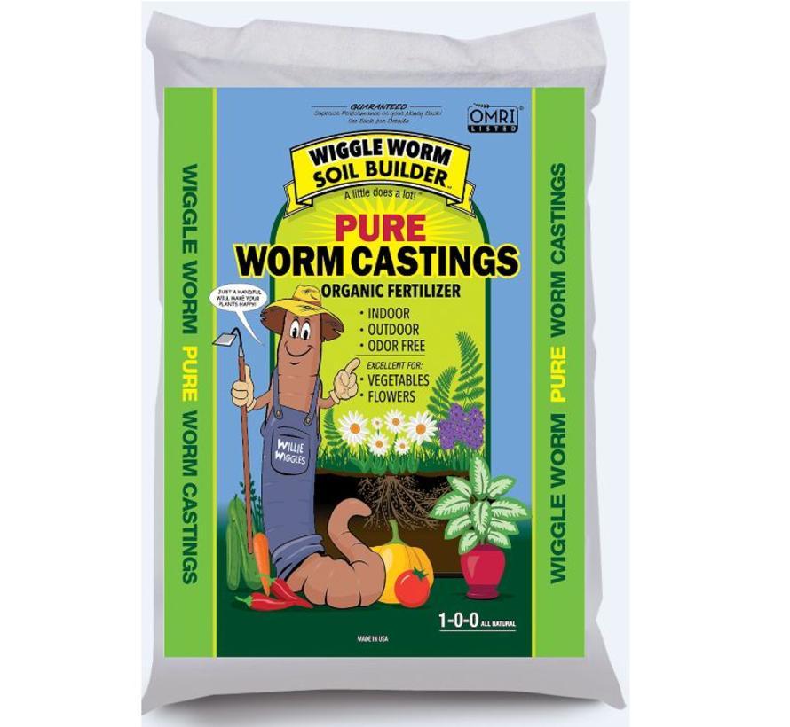 Wiggle Worm Earthworm Castings 30LB