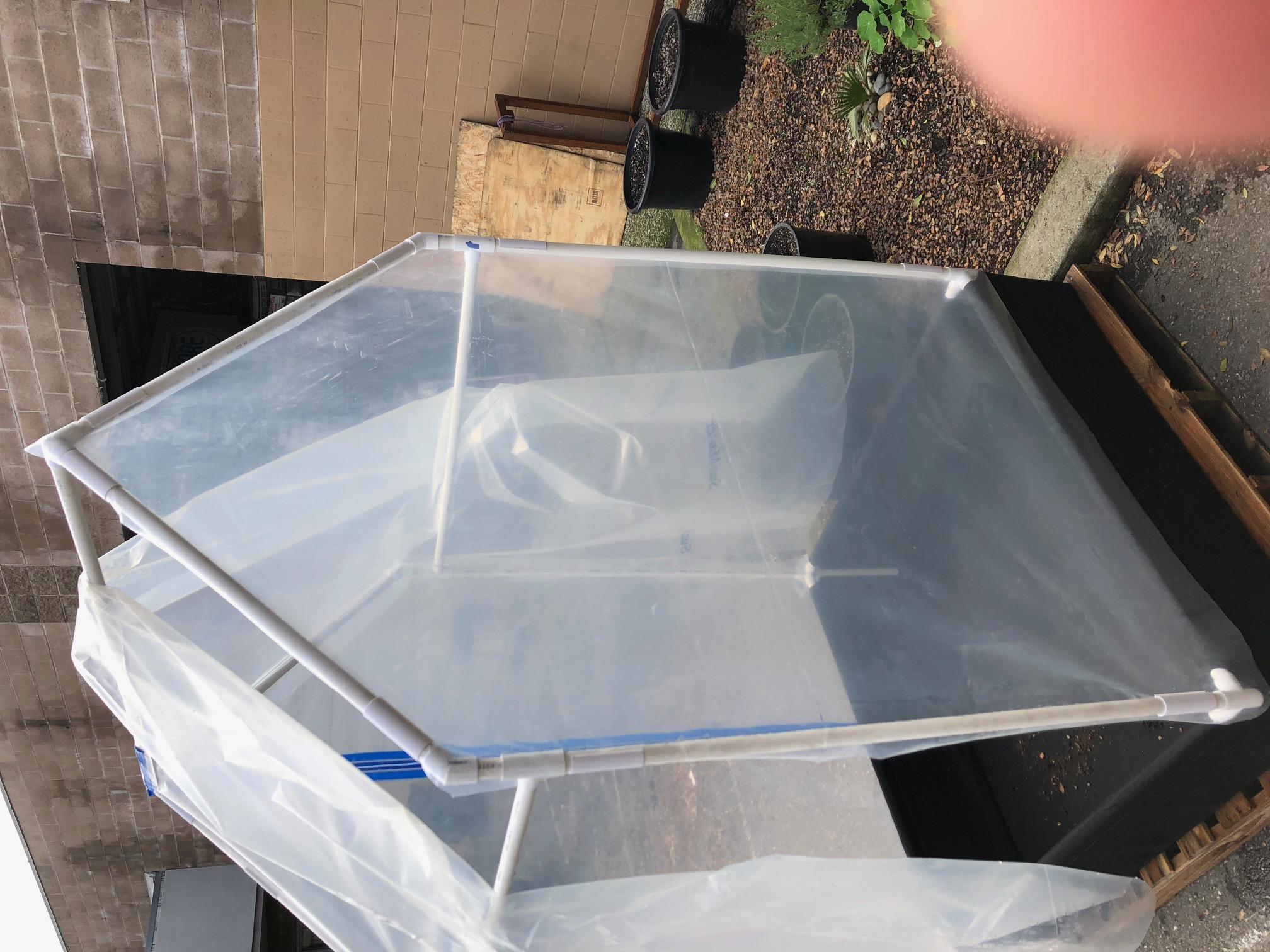 DIY Greenhouse with PVC Fittings - RASA Hydroponics & Organics