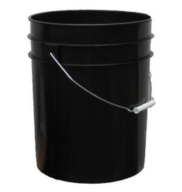 RASA 5 Gallon Bucket, Black