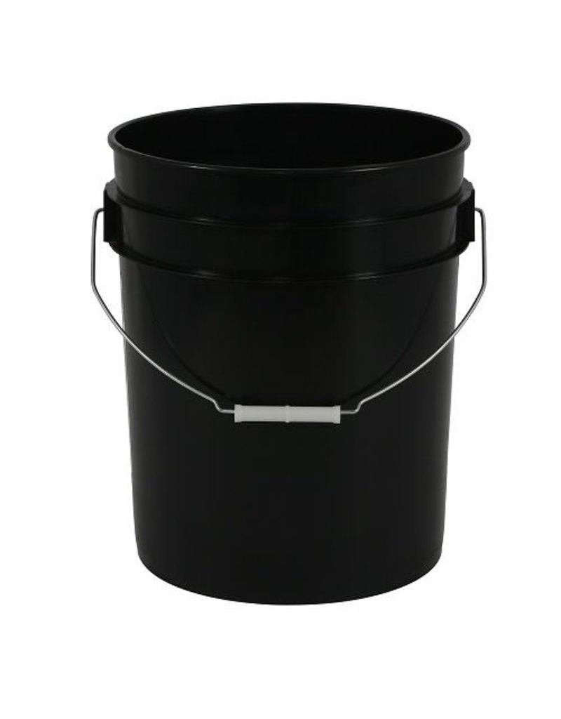 RASA 5 Gallon Bucket, Black
