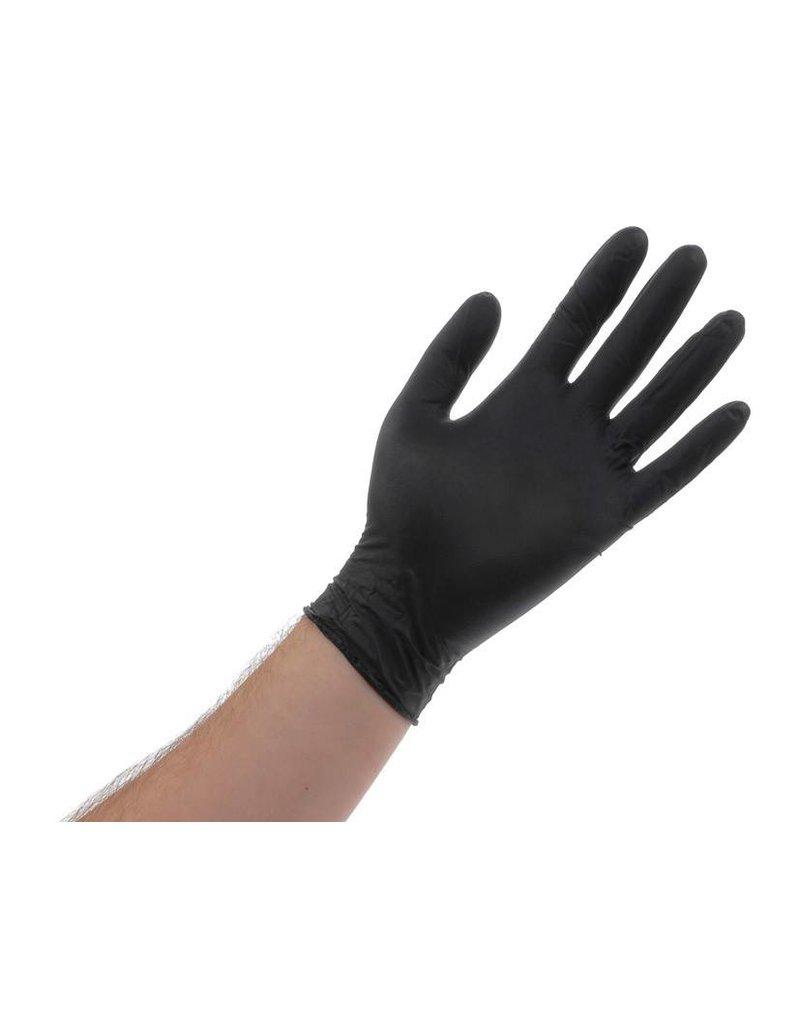 Atlantic Safety Products Black Lightning Powder Free Gloves