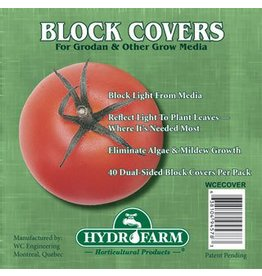 Hydrofarm 6 in.  Rockwool Block Cover