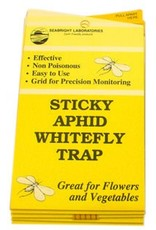 Seabright Laboratories White Fly Traps 5 Pack (Yellow Sticky Trap)